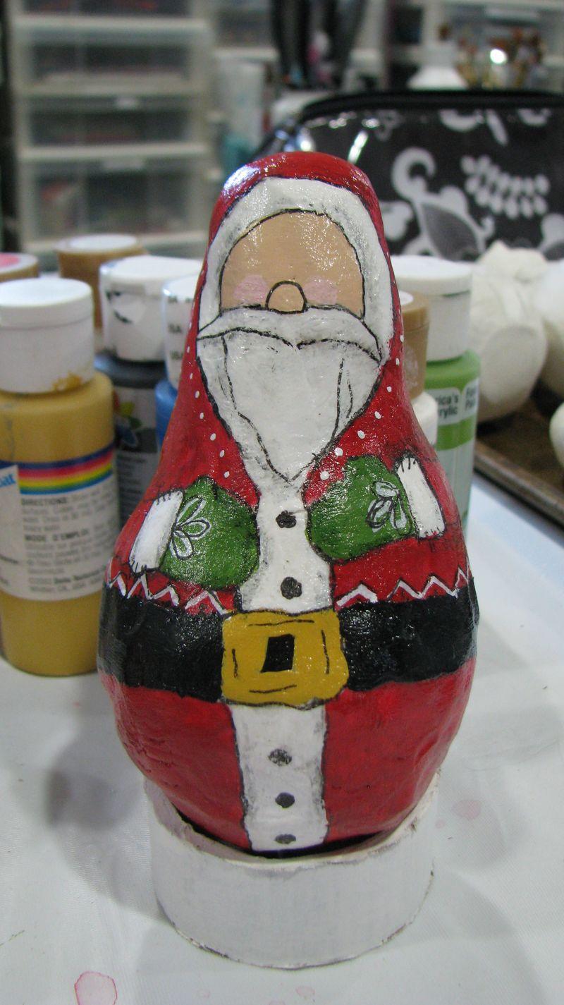 Santa ornaments 005