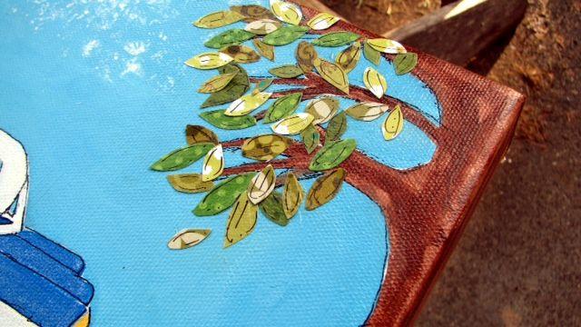 Photo-leaves