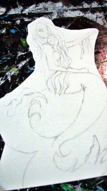 Mermaid drawing